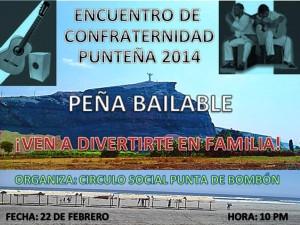 FIESTA DE REENCUENTRO DE FAMILIAS PUNTEÑAS