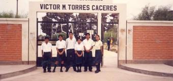 LOS 50 AÑOS DEL COLEGIO NACIONAL  VICTOR MANUEL TORRES CÁCERES