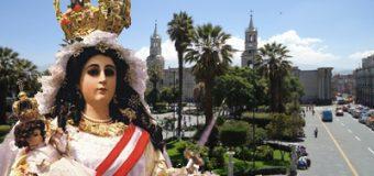 Fieles pasarán Día de la Madre en el Santuario de la Virgen de Chapi