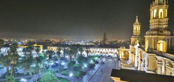 ¿Cuál es la ubicación de Arequipa en el ranking de ejecución presupuestal 2018?