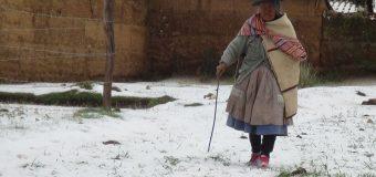 Distrito de Yanahuara soportó temperatura de 15 grados bajo cero