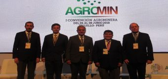 AGROMIN 2018: se inaugura evento con representantes del sector minero y agrario