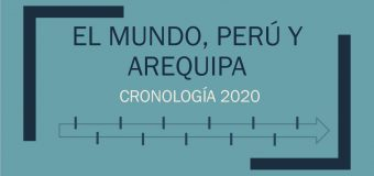 EL MUNDO, PERÚ Y AREQUIPA – CRONOLOGÍA 2020